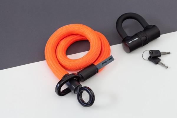 Tex-Lock eyelet S 80 cm, neon orange