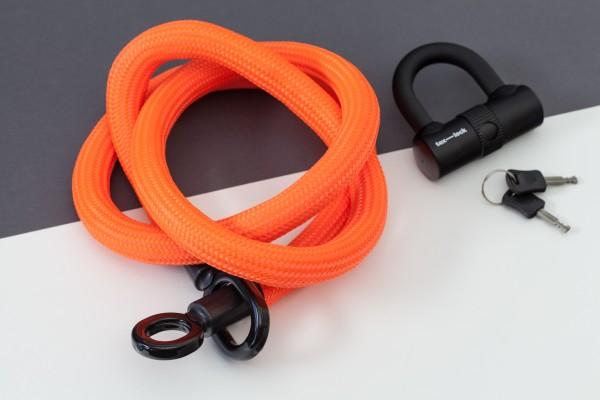Tex-Lock eyelet L 160 cm, neon orange