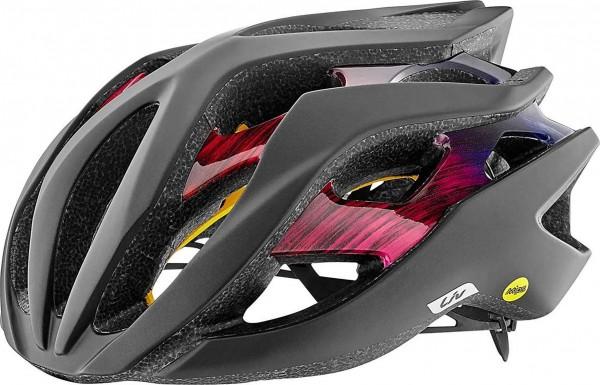 Liv Rev MIPS Helm schwarz matt/fuchsia glänzend L 59-63 cm