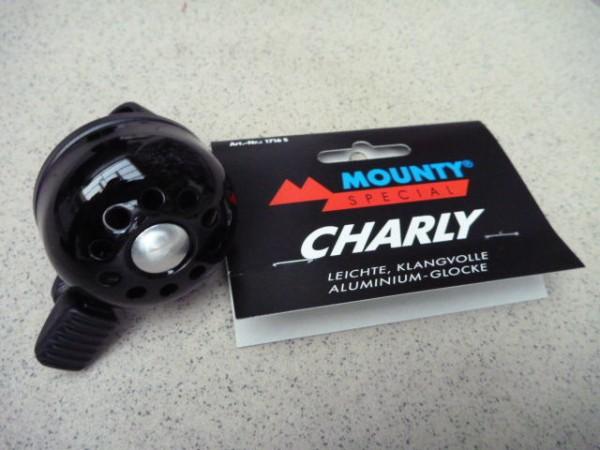 Mounty Special Glocke Charly schwarz Fahrrad Klingel Fahrradklingel