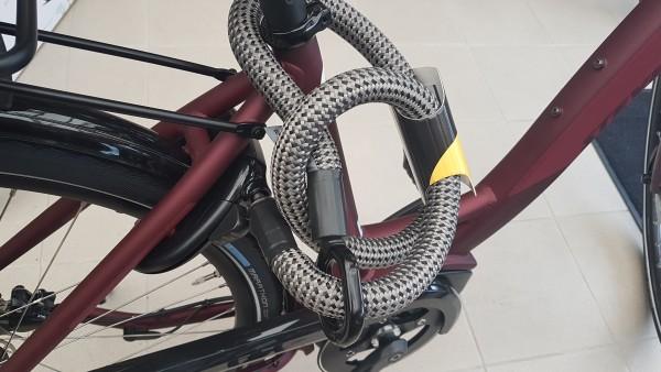 TEX-LOCK MATE schwarz 120 cm für Rahmenschlösser 1060 Gramm