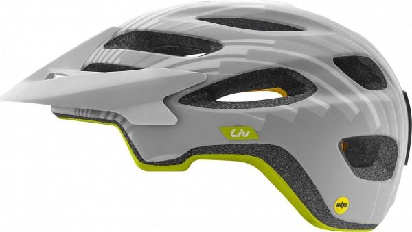 Liv Coveta MIPS Helm grau/grünS 51-55cm