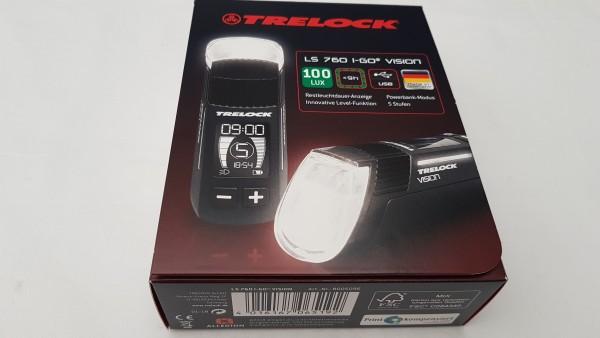 TRELOCK LS 760 I-Go Vision schwarz LED-Frontlampe