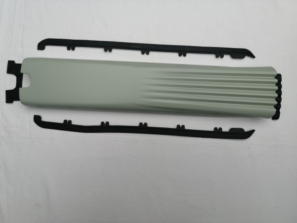 Giant E Fully Akku Cover beige/grau glänzend Rahmen Cover