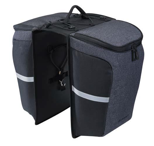 Giant MIK Pannier Tasche grau klein Gepäckträgertasche