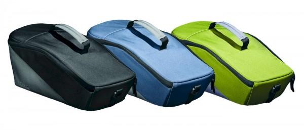 Racktime Gepäckträgertasche Talis trunk bag berry blue / stone grau