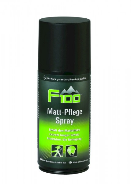 F100 Matt-Pflege Spray 250 ml (1Liter/51,96€)