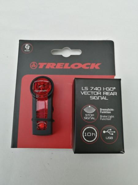 Trelock LED Akkurücklicht LS 740 I-Go Vector Rear Signal