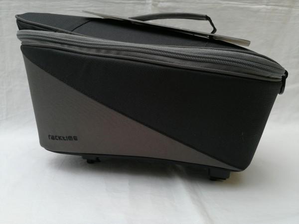 Racktime Gepäckträgertasche Talis trunk bag schwarz grau
