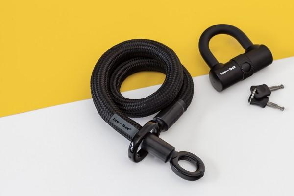 Tex-Lock eyelet S 80 cm, schwarz
