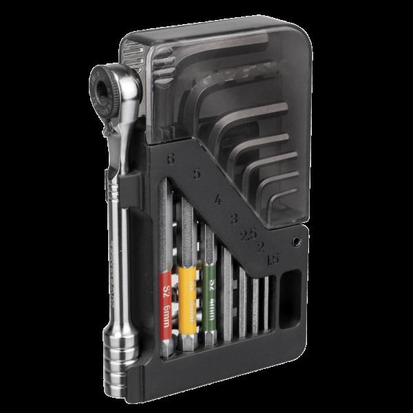 Topeak Omni ToolCard Innensechskant Werkzeug-Box
