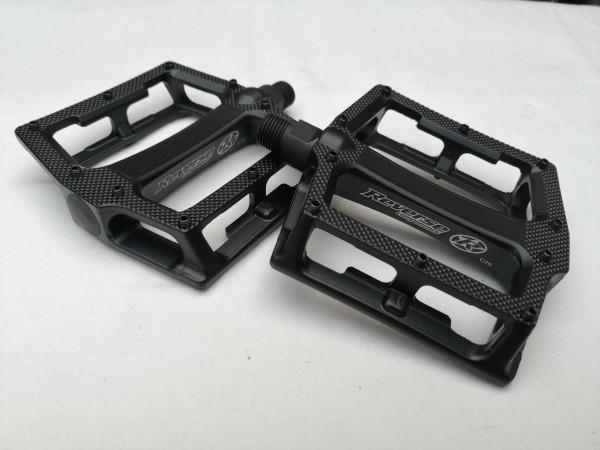 Reverse MTB Pedal Super Shape-3-D schwarz Matt