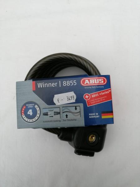 Abus Spiralkabelschloss Winner 8855/195 KF