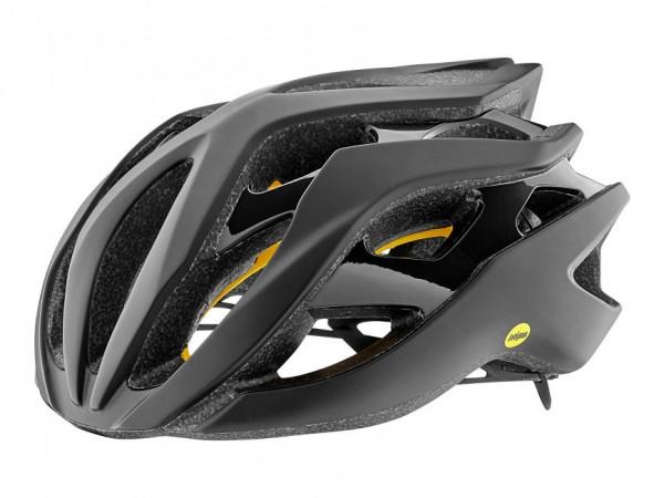 Giant Rev MIPS Helm schwarz matt/schwarz glänzend M 55-59cm