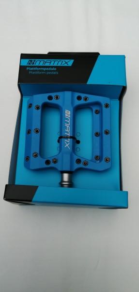 Matrix Plattformpedal Composite PE76 blau