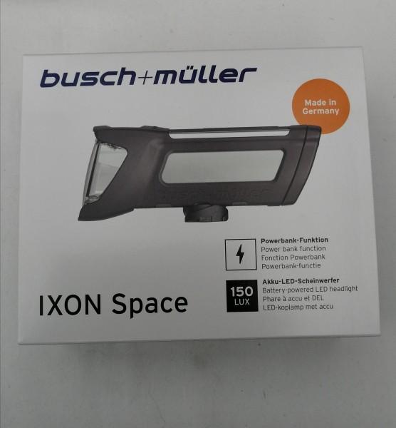 B&M Ixon Space 196L LED 150 Lux Akku-Frontscheinwerfer