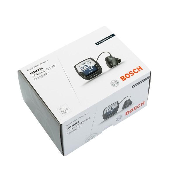 Bosch Nachrüst-Kit Intuvia (BUI255) anthrazit, Kabel 1.500 mm, Displayhalter, Bedieneinheit