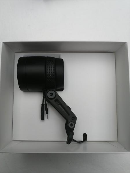 B&M Dynamo-Scheinwerfer IQ-X schwarz eloxiert 164RTSNDI