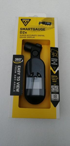 Topeak Smartgauge D2X Druckluftprüfer schwarz