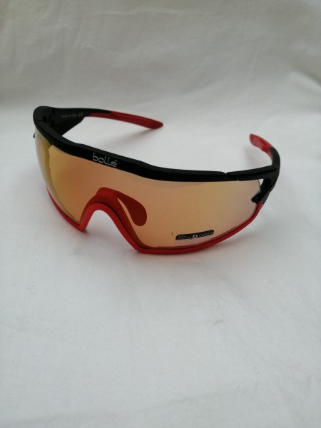 BOLLÉ Sportbrille B-Rock Pro matt Black Phantom Brown Red