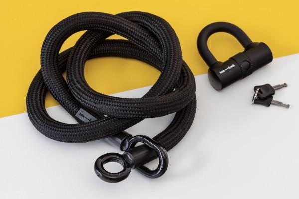 Tex-Lock eyelet L 160 cm, schwarz
