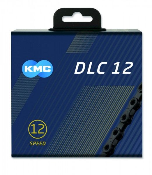 KMC Fahrrad Kette DLC12 126 Glieder schwarz Box