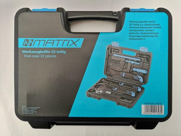 MATRIX Werkzeugkoffer Multi 22-teilig