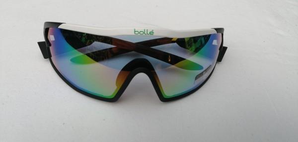 BOLLÉ Sportbrille B-Rock Pro matt weiss /phantom grün 12630
