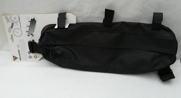 Topeak MidLoader black 4,5 l Aktuelles Modell Mittelrohr Tasche