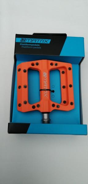 Matrix Plattformpedal Composite PE76 orange