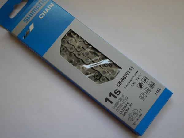 Shimano Fahrrad Kette CNHG701-11 11-fach 116 Glieder ICNHG70111116Q OVP