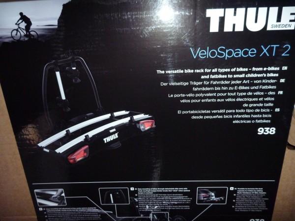 Thule Heckträger VeloSpace XT 2 Fahrräder 938